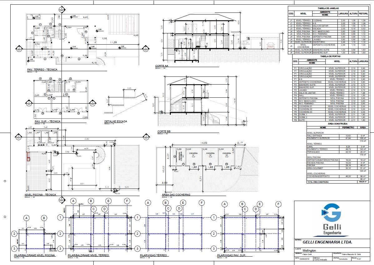 Obras e Projetos - Construtora e engenharia Gelli São Roque SP 8